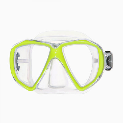 ScubaMax Spider Eye Mask Yellow