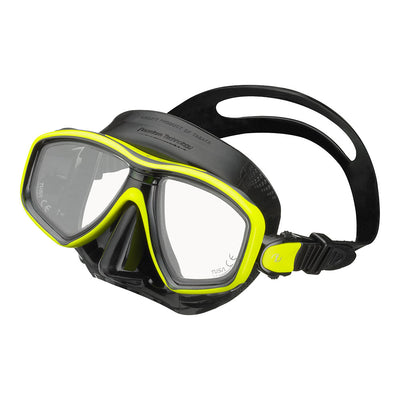 Tusa Freedom Ceos Mask Black/Yellow