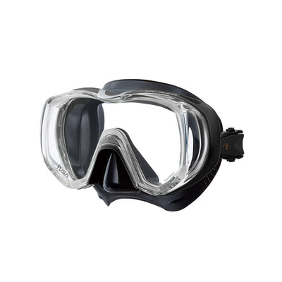 Tusa Freedom Tri-Quest Mask Black/Black