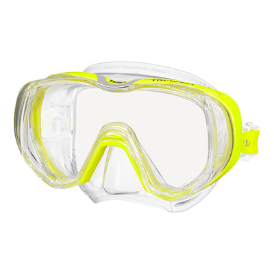 Tusa Freedom Tri-Quest Mask Yellow
