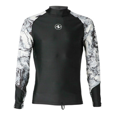 Aqua Lung Rash Guard Athletic Cut Long Sleeve Men