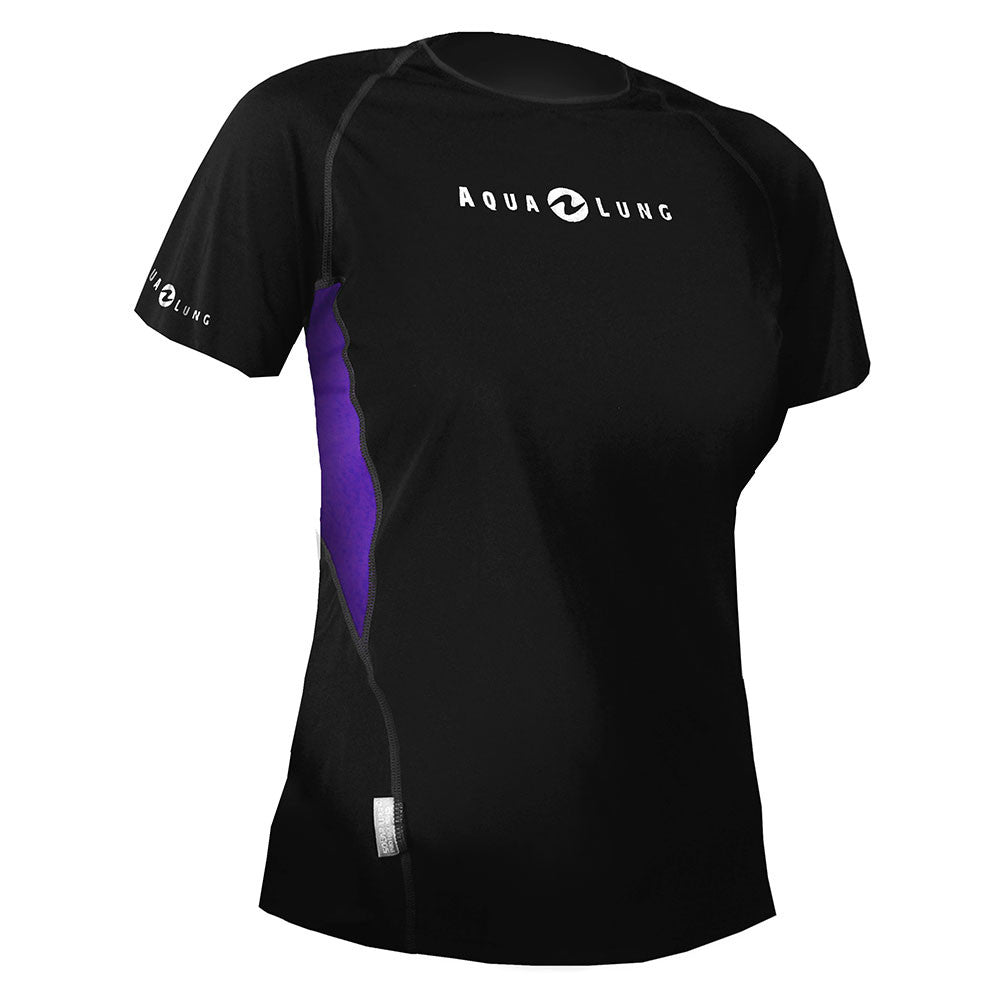 Aqua Lung Loose Fit Short Sleeve Rashguard Women