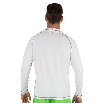 Uzzi Long Sleeve Unisex Rashguard White