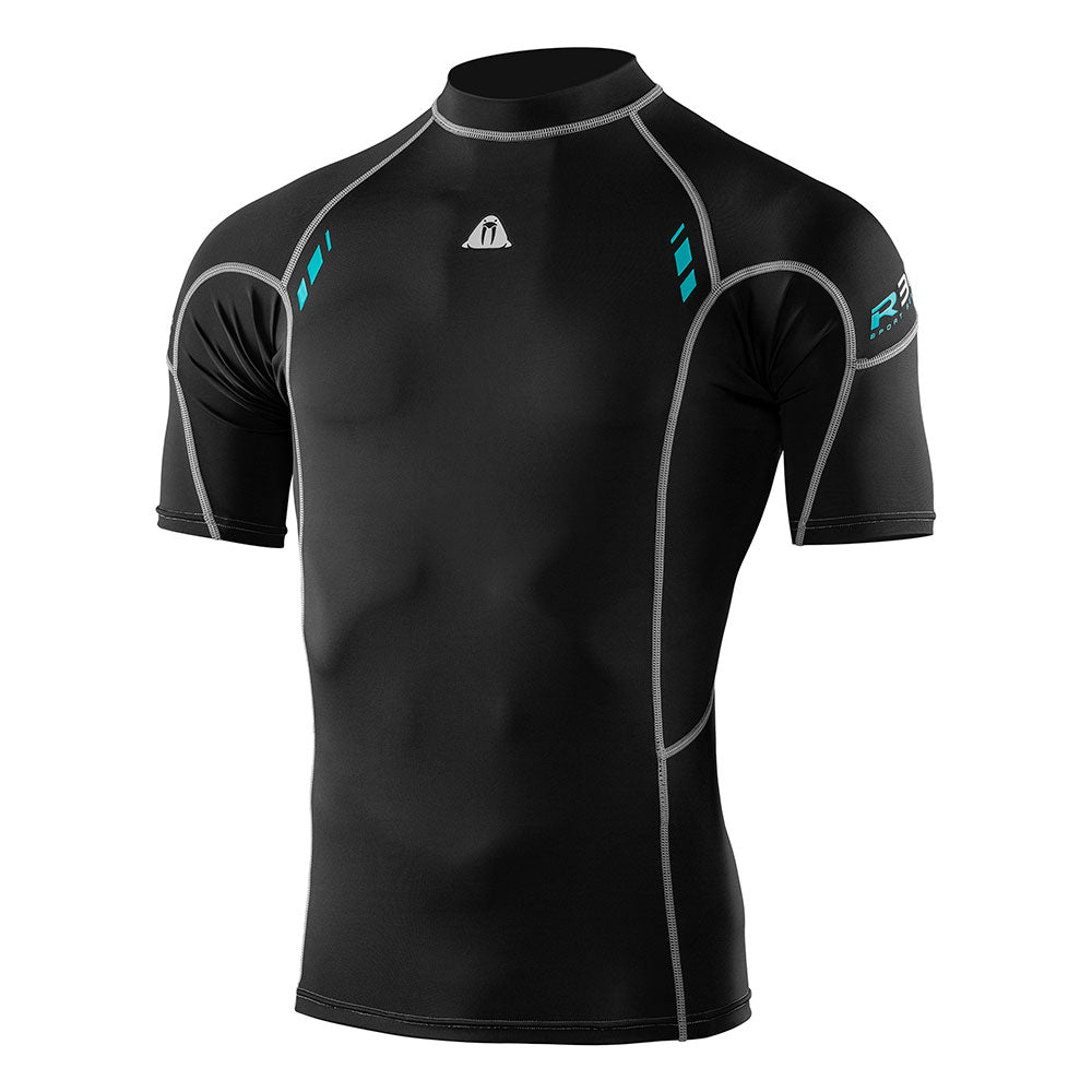 Waterproof R30 Short Sleeve Rashguard Men