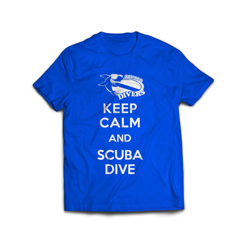 Keep Calm and Scuba Dive T-Shirt Women