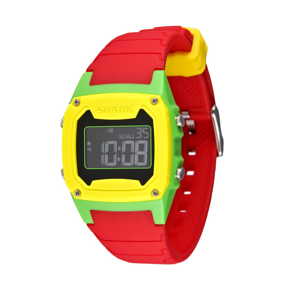 Freestyle Shark Classic Dive Watch Red/Green/Yellow
