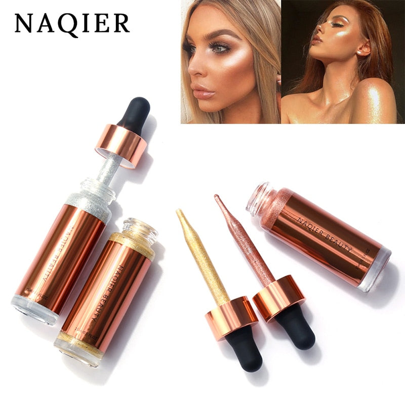 NEW Beauty Concealer Liquid High gloss liquid foundation Highlighter Shine Glow Original Concealer Perfect Makeup Tool For Women