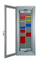 Small Lockable Cabinet  Muster Station T Card - MAX 60 person