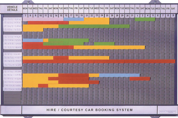 Rental Booking Board