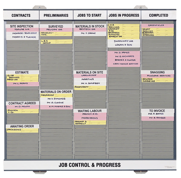 Job Control & Progress Board (Size 70)