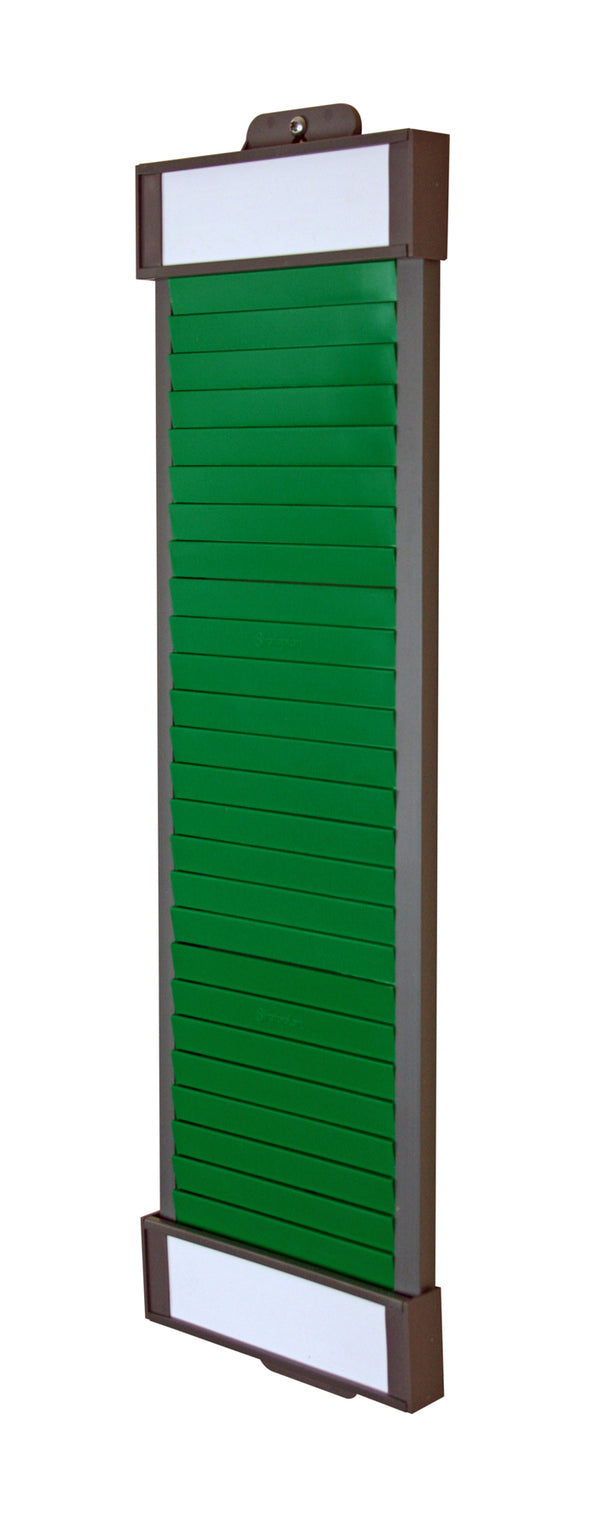 Size 4 / 120 Green Single Column T Board