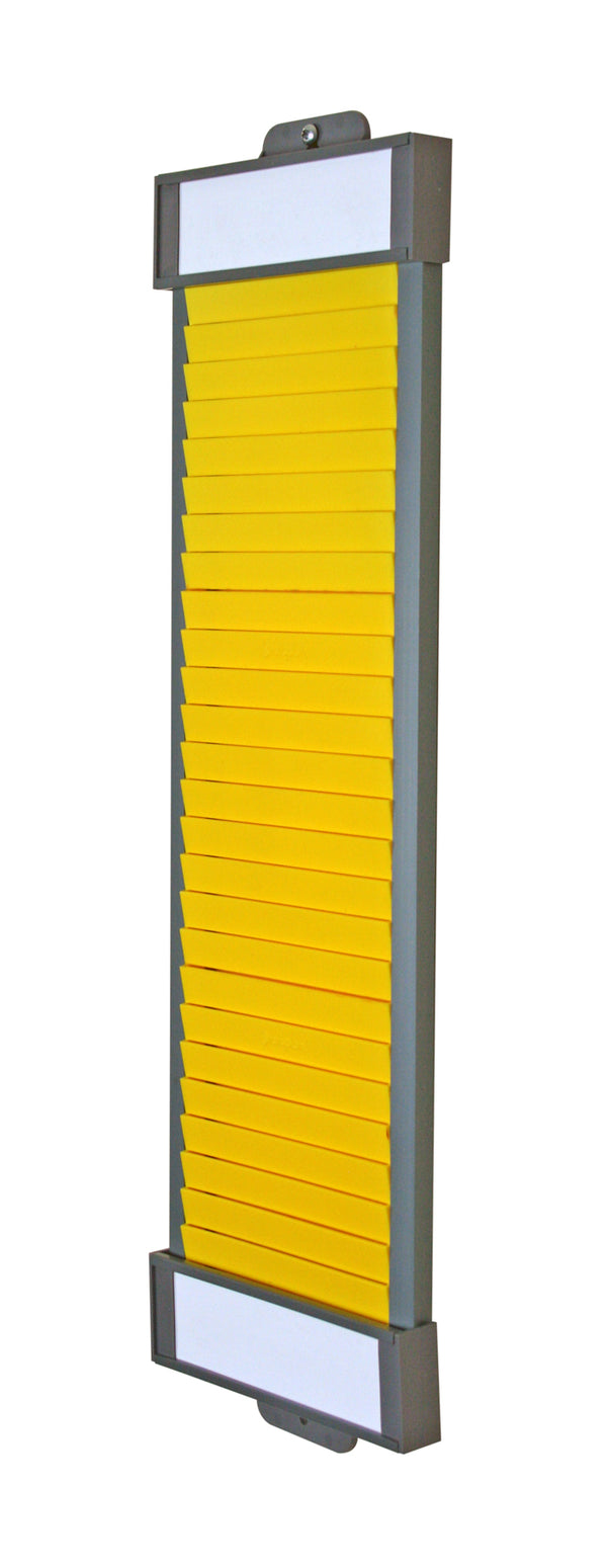 Size 4 T Card Column Yellow