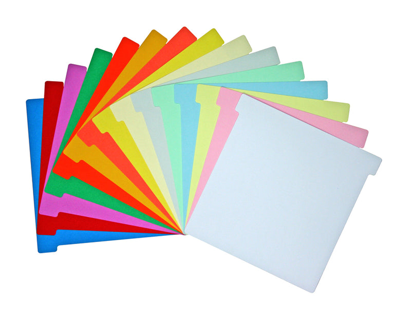 Size 120 T Card Colours