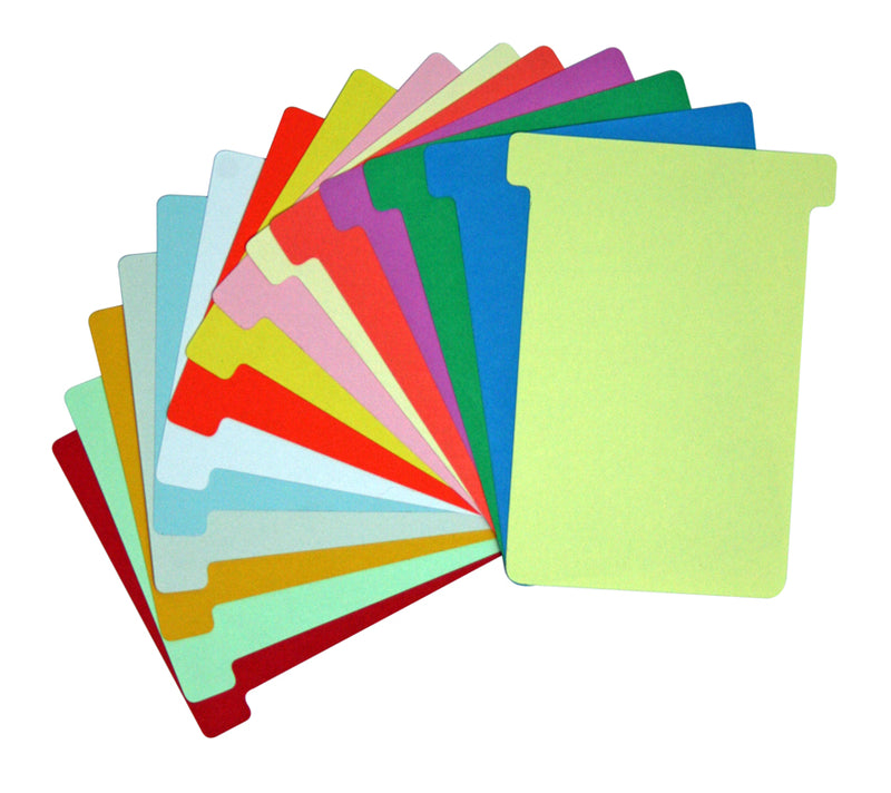 Size 70 T Card Colours
