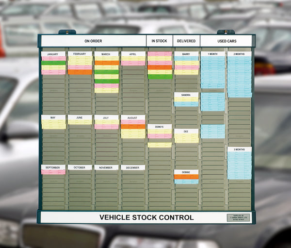 Vehicle Stock Control Board