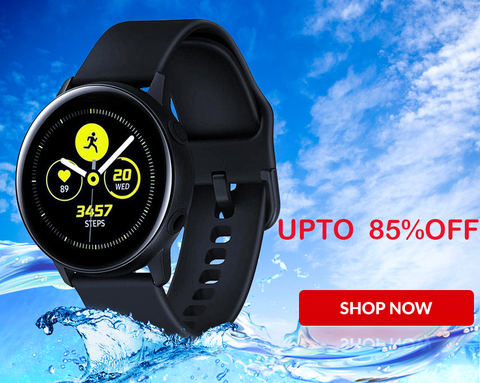 GALAXY SMARTWATCH ACTIVE (BLACK)