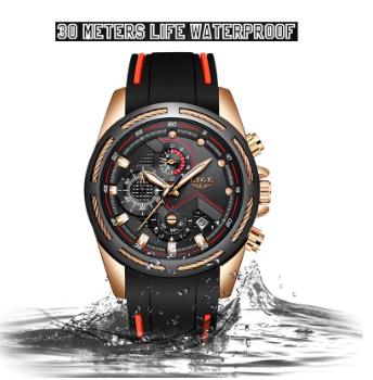 New Mens Watches Top Luxury Brand Men Unique Sports Watch