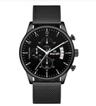 Mens Watches Waterproof Stainless Steel Wristwatch Mens  Casual Watch