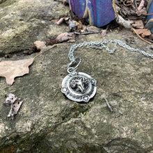 Load image into Gallery viewer, Ram Head Necklace - Round