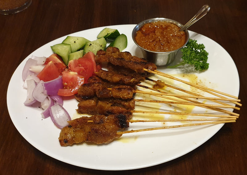 Pork Satay (10 pieces)