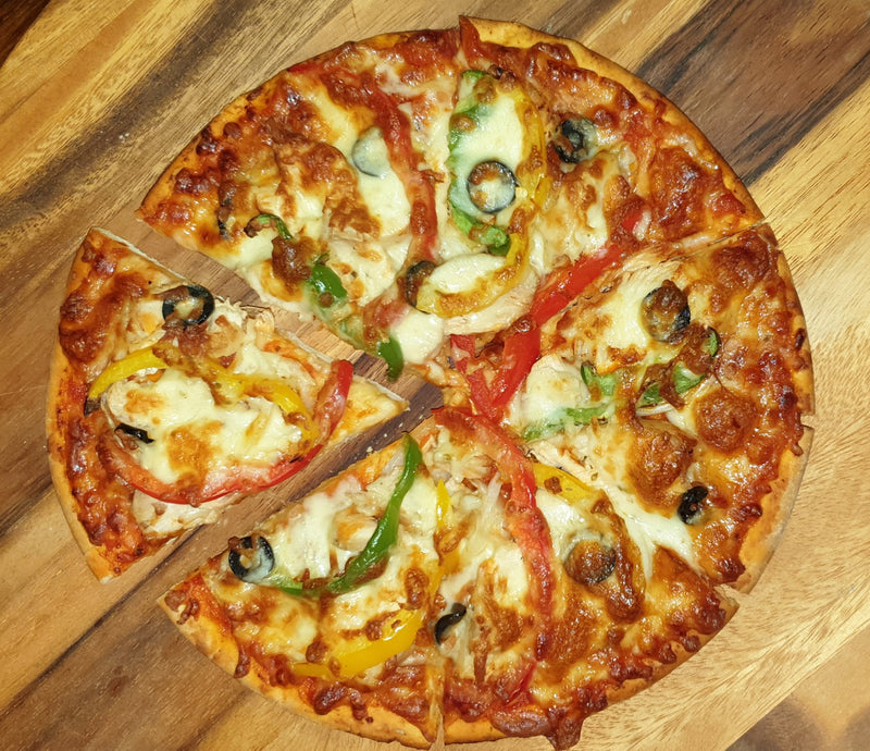 Roast Chicken Pizza