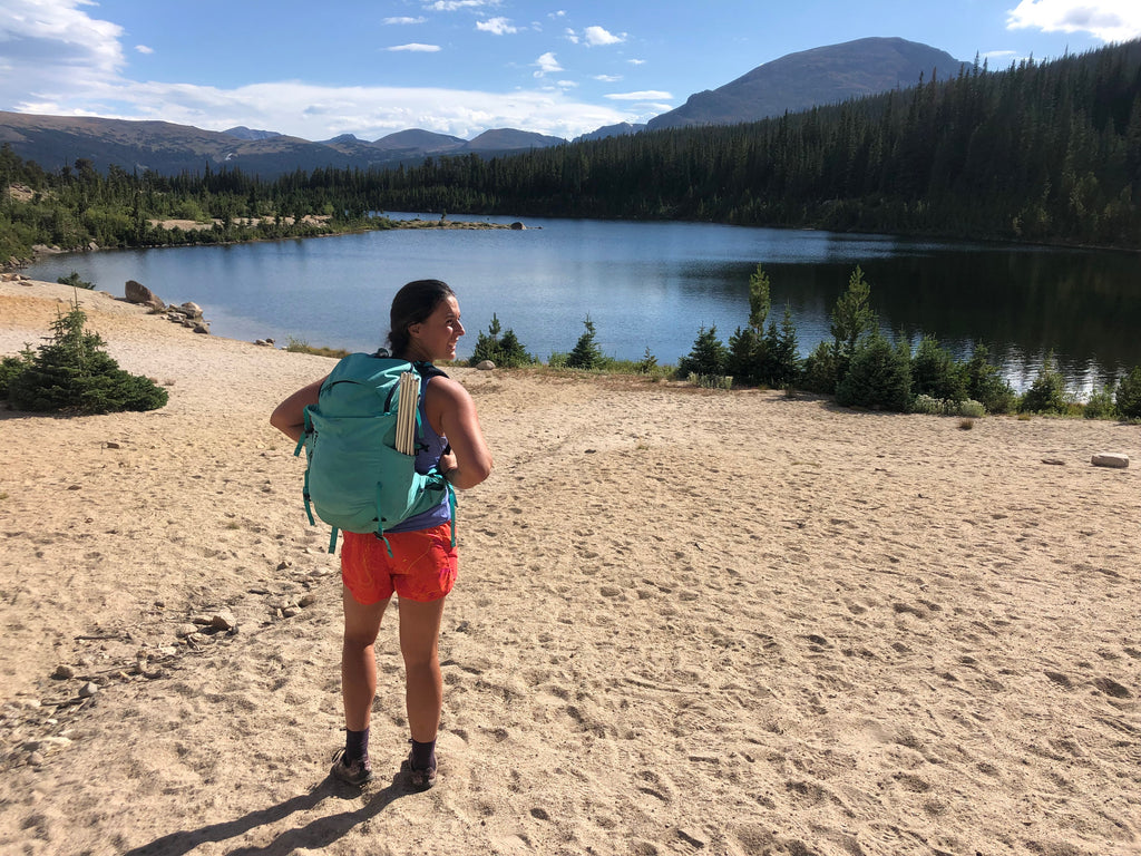 Salvaging the trip with an overnight to a lake in Rocky Mountain National Park