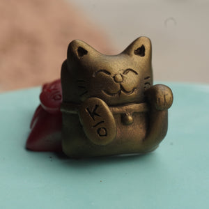 Lucky Cat - Antique Gold (MX)