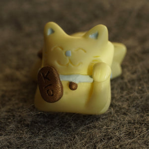 Lucky Cat - Maneki (Yellow) MX