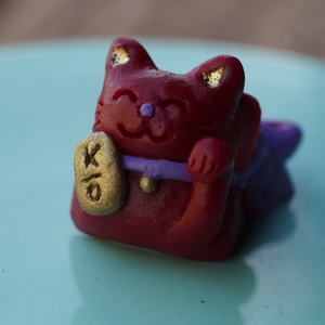 Lucky Cat - Maneki (Red) MX
