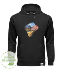 "Laden Sie das Bild in den Galerie-Viewer, ""home sweet home"" Unisex Organic Hoodie"