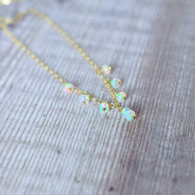 Load image into Gallery viewer, Floating Opal Necklace