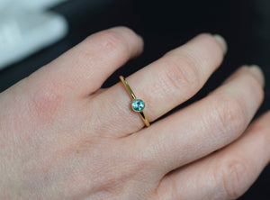 Apatite Gold Ring in Gold Fill