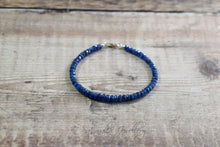 Load image into Gallery viewer, Blue Burmese Sapphire Bracelet