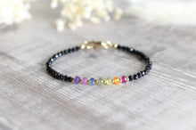 Load image into Gallery viewer, Rainbow Sapphire Chakra Bracelet