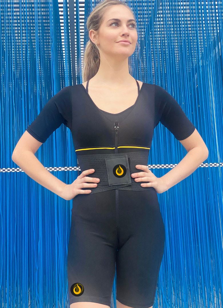Sauna Vest with Sleeves Woman - Sauna Shapers