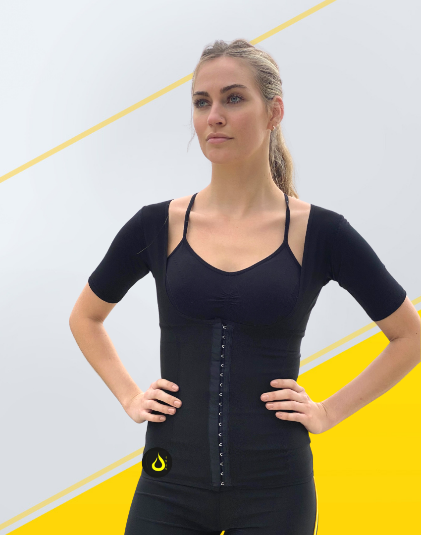 Sauna Vest with Sleeves Woman