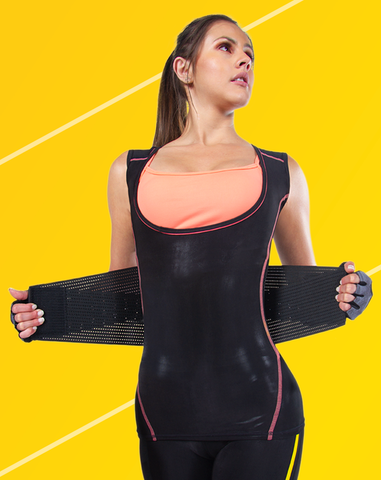 Image of SAUNA TANK WOMEN + WAIST TRAINER