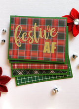 Load image into Gallery viewer, Festive AF Holiday Cards, Set of 5