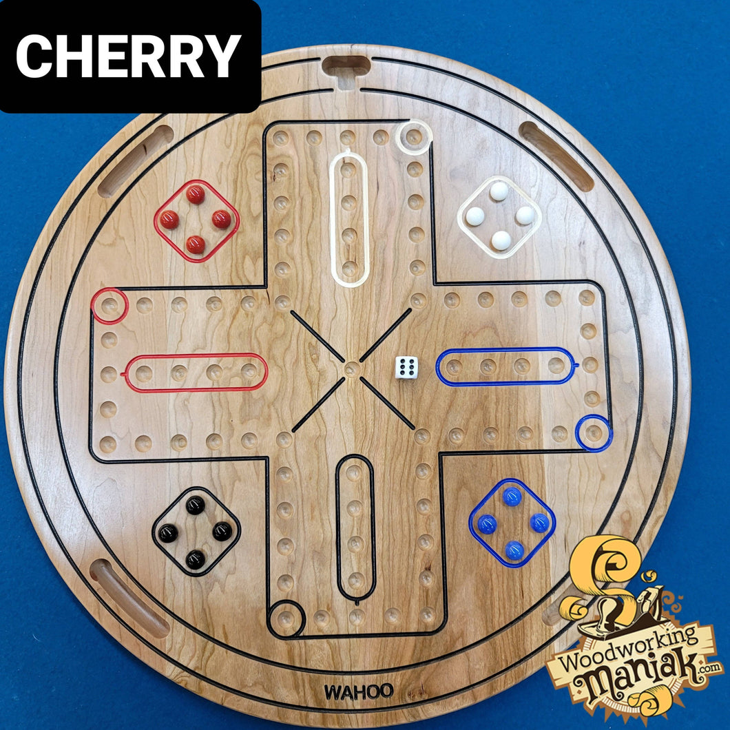 20 Inch 6 Player Wahoo / Aggravation Game Board