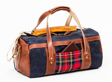 Load image into Gallery viewer, Club Duffel Bag- Stewart Prince Charles Edward Modern Tartan