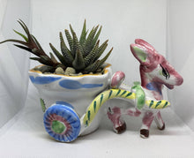 Load image into Gallery viewer, Antique Donkey With Succulent
