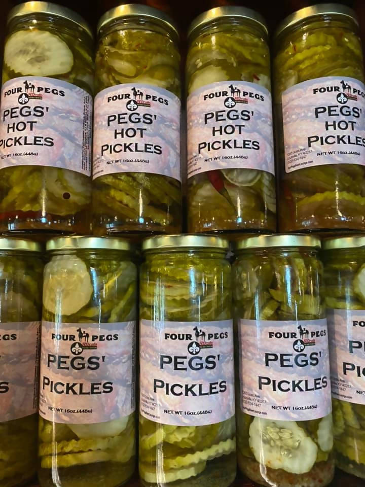 Pegs Hot Pickles