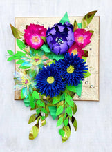 Load image into Gallery viewer, Glam Paper Flower Wall Art #2