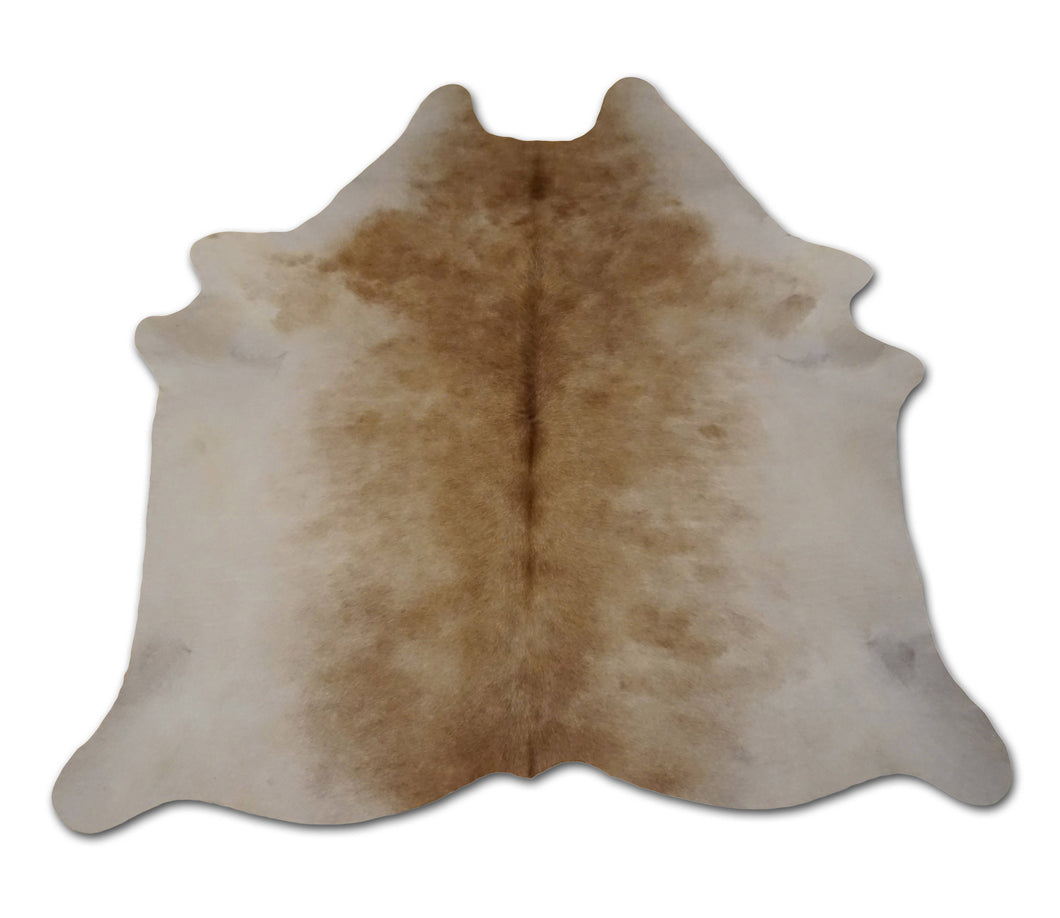 Natural Brazilian Cowhide In Brown White Mix