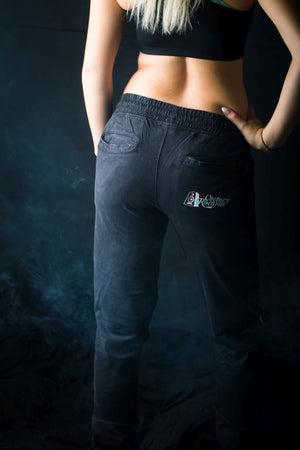 Acid Wash Jogging Pants - Battl Victory Records