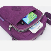 Lightweight Waterproof Nylon Casual Crossbody Bag