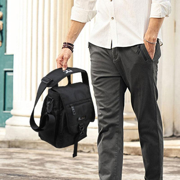 Multifunctional Large Capacity Messenger Bag