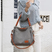 Large Capacity Casual Canvas Crossbody Bag