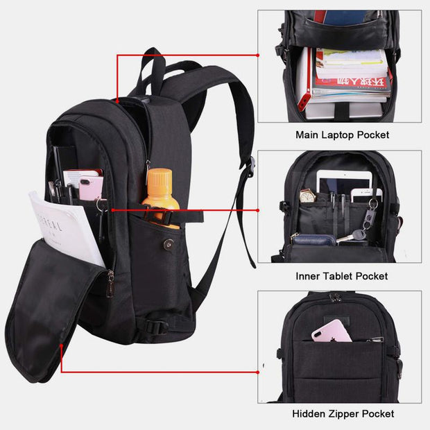 Large Capacity Anti-theft Travel Backpack