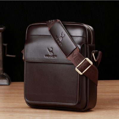 Large Capacity Wear-Resistant Business Messenger Bag